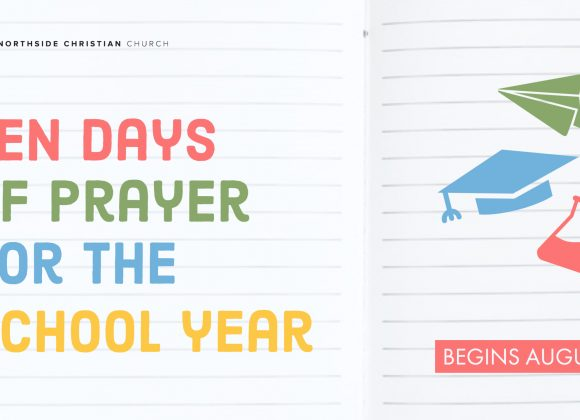 Ten days of prayer for the school year