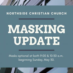 Masking Update for May 30, 2021